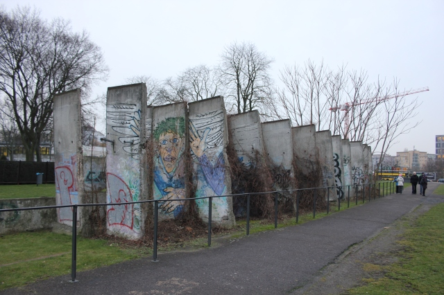 Original Berlin Wall Segments