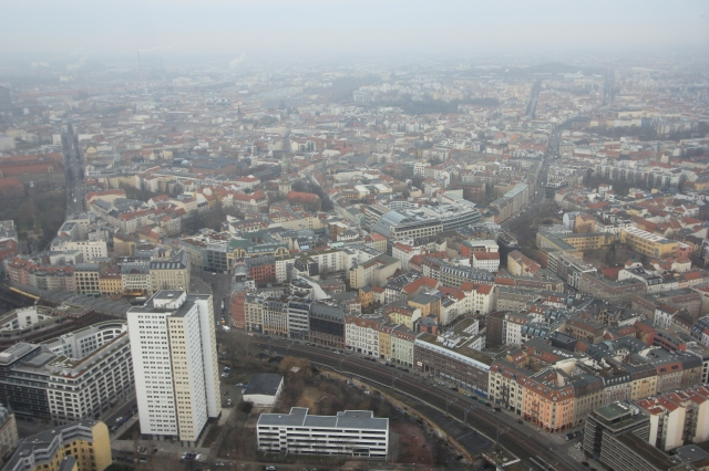 View over West Berlin