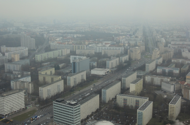 View over East Berlin