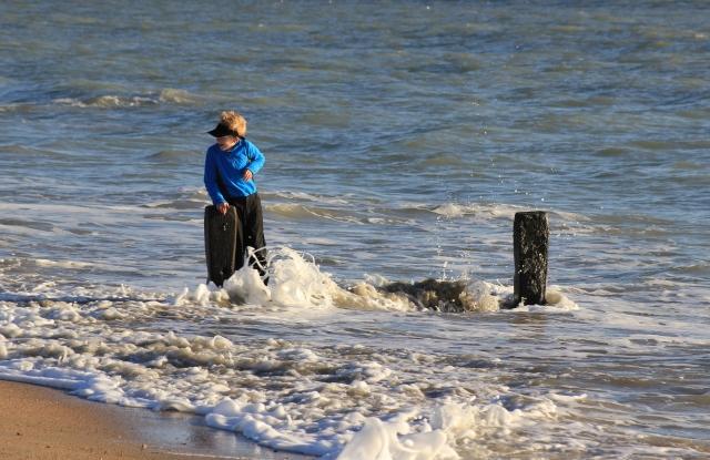 Battling the Surf