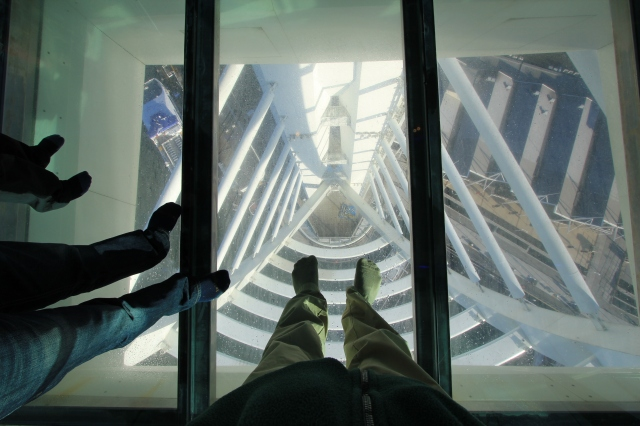 Spinnaker Tower Glass Floor