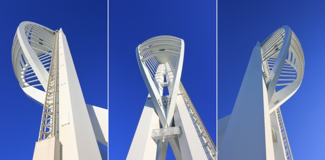 The Spinnaker Tower Triptych