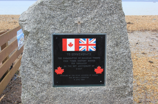 Stokes Bay Canadian Memorial