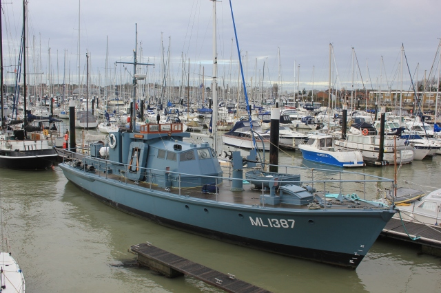 ML1387 Medusa in Gosport Marina