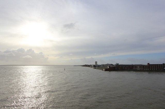 Views West Across Portsmouth Harbour Entrance