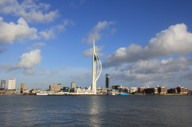 Portsmouth from the Gosport Ferry