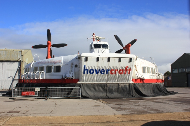 The Princess Margaret at the Hovercraft Museum