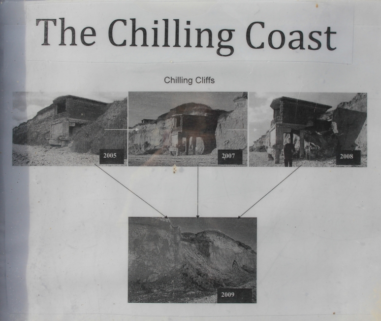 The Chilling Coast Sign