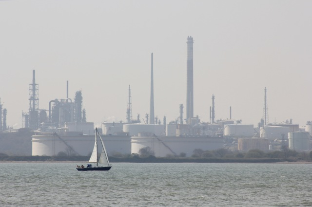 Southampton Water and Fawley Industry