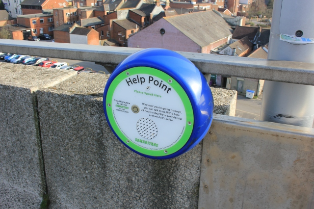 Help Point, Millenium Bridge
