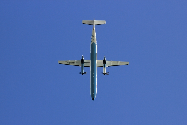 Flybe Approaching Southampton