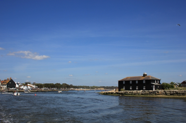 Entrance to Christchurch Harbour From the Ferry