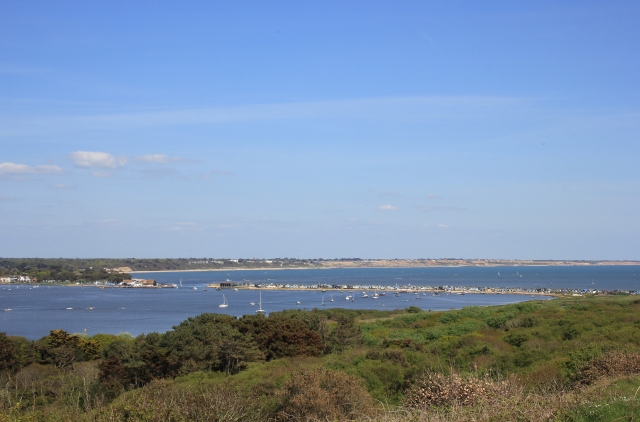 Looking Back to Christchurch Harbour