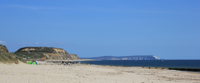 View back to Hengistbury Head cropped