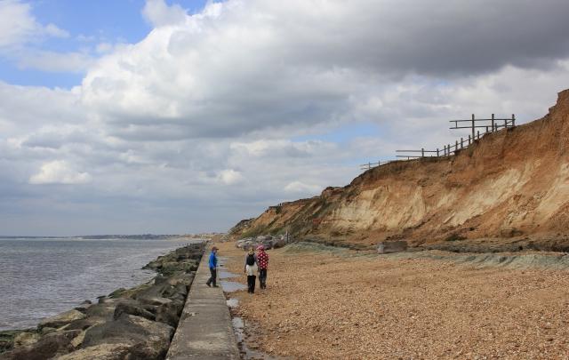 Milford on Sea Beach Erosion