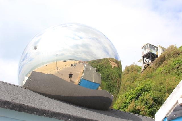 Strange Giant Ball Bearing
