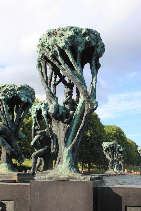 Fountain Sculpture Detail