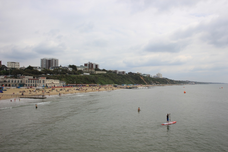 View East from Bournemouth Pier