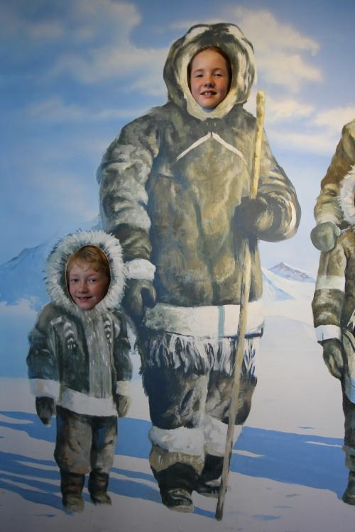 Polar Ben and Catherine