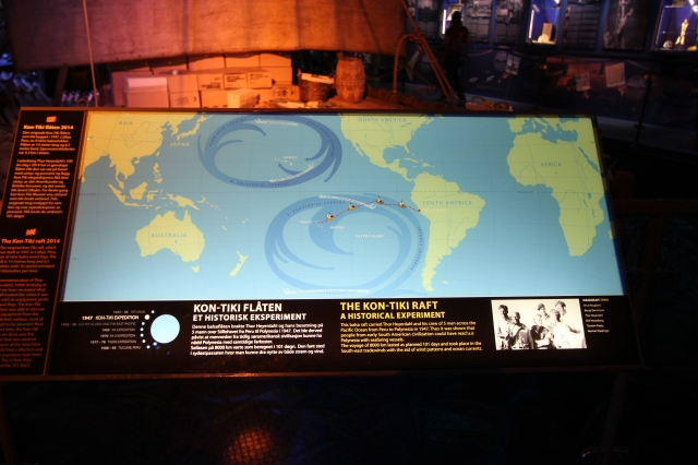 Kon-Tiki Information Board