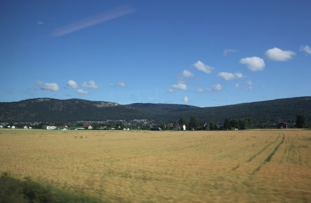 Oslo to Voss Railway Journey