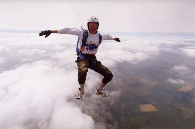 Sit Flying at Langar