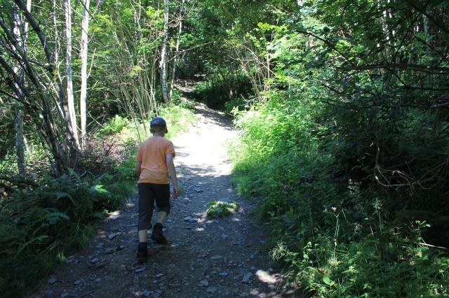 The Path up Hanguren