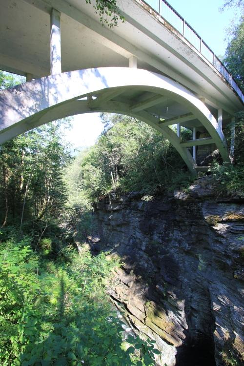 Bridge Over the Bordalsgjelet Gorge