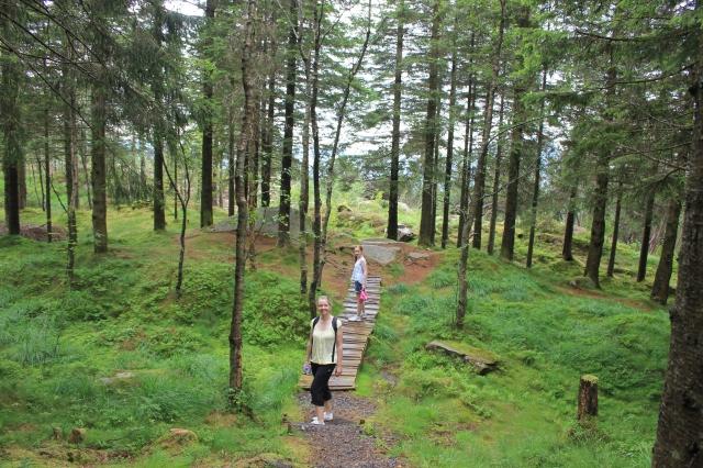 Walking in Floyen
