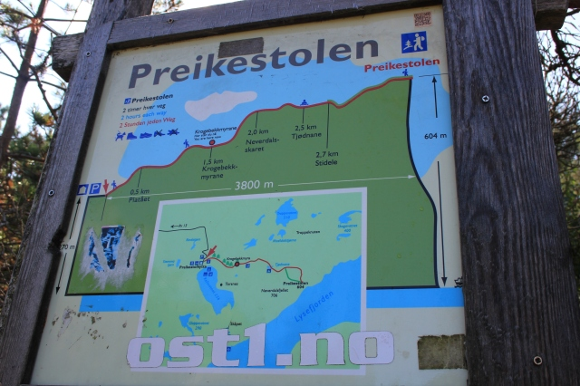 Preikstolen Trail Board