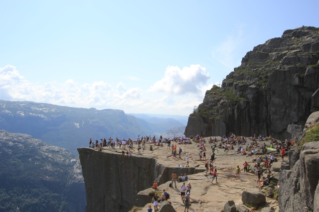 Back to Pulpit Rock