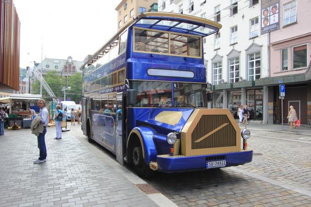 Bus to Mount Ulriken