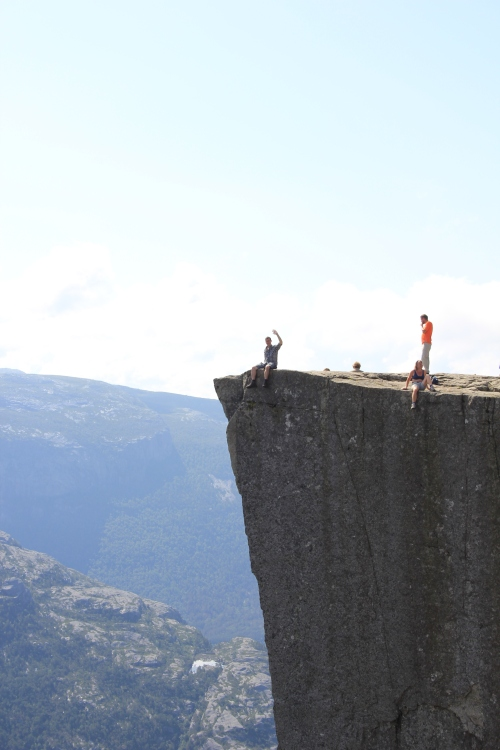 Nic on Pulpit Rock