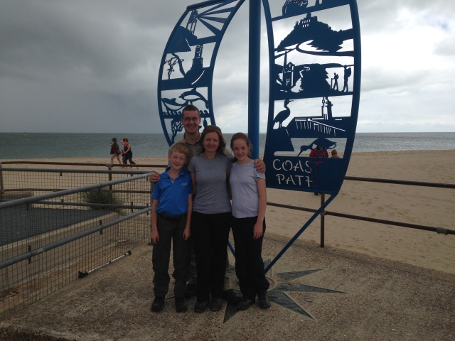 Start of the South West Coast Path