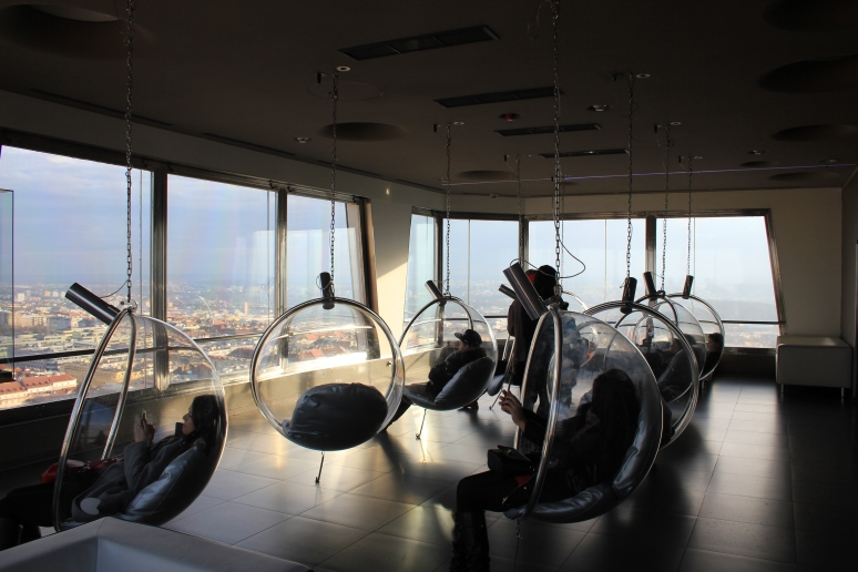Viewing Room at Žižkov Tower