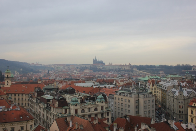 St Vitus Cathedral from Old Town Hall Tower