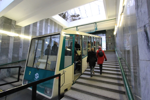 Funicular Railway to Petřín Observation Tower
