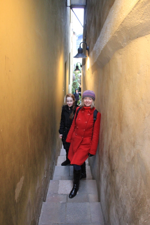 The Narrowest Street in Prague