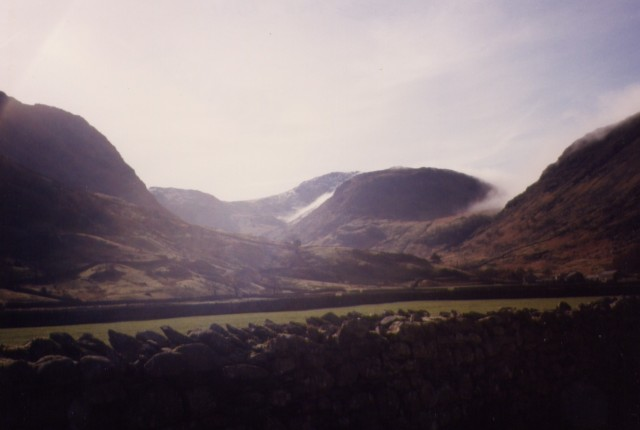 Scafell Pike March 1989