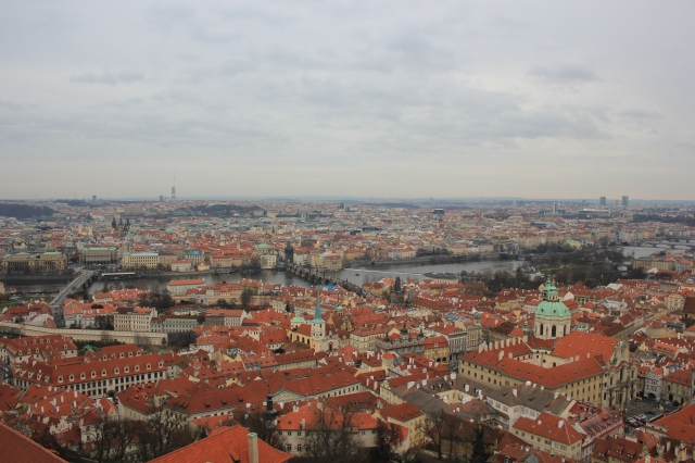 View from St Vitus's Cathedral