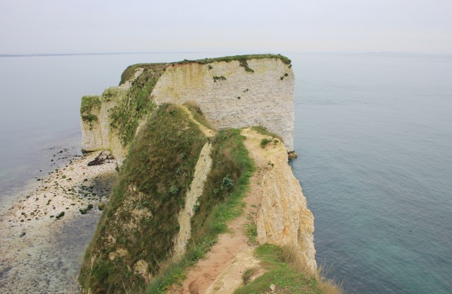 Track towards Old Harry Rocks