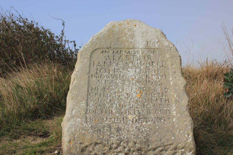 Winspit Quarry Memorial Stone