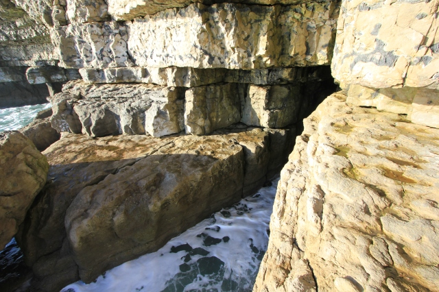 Cave at Dancing Ledge