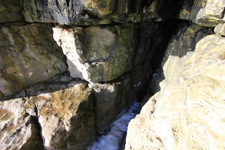 Cave at Dancing Ledge