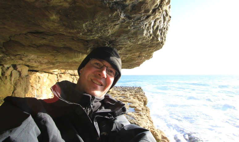 Looking out from the Cave at Dancing Ledge