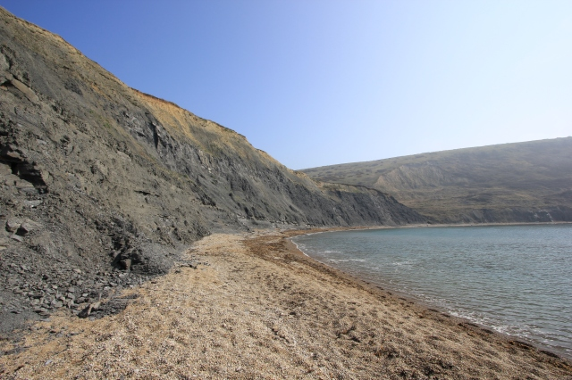 Cliffs of Kimmeridge Clay at Chapman's Pool