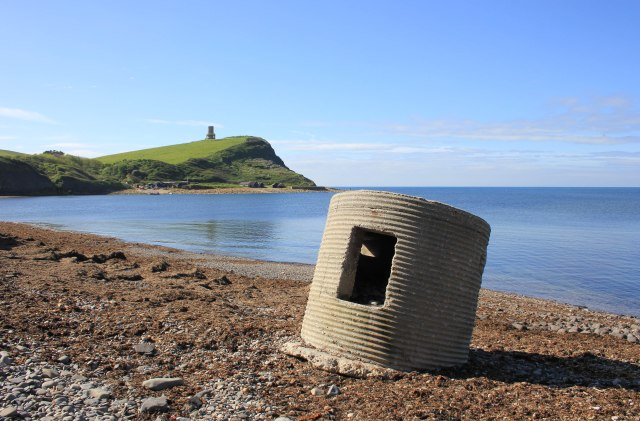 Type 25 Pillbox at Kimmeridge Bay