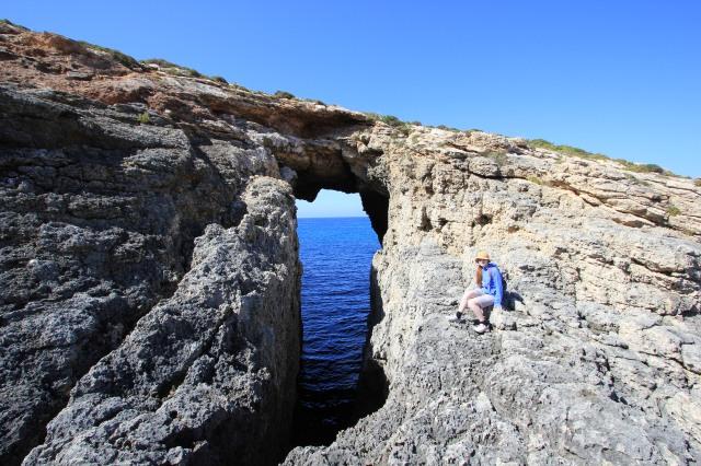 Comino Sea Arch