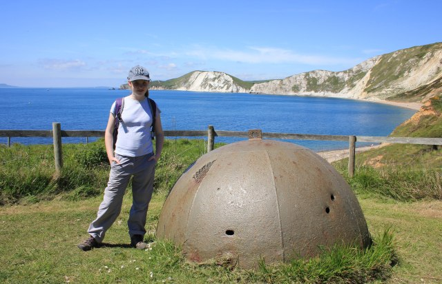 Allen Williams Turret at Worbarrow Bay