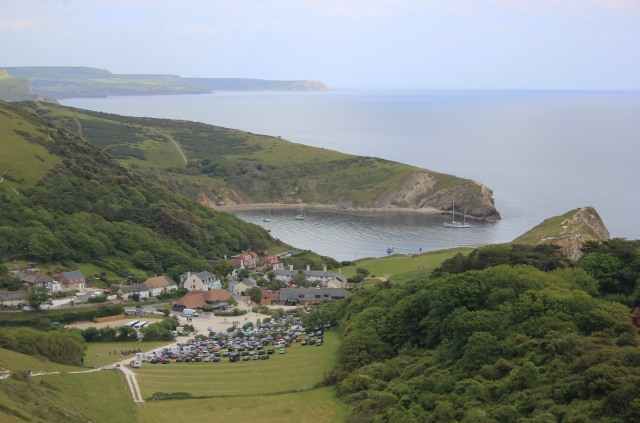 Looking Back to Lulworth